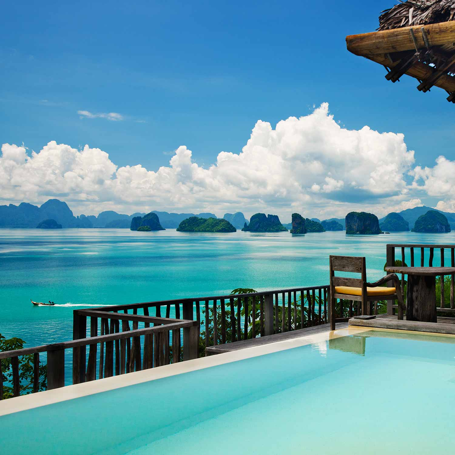 Beach and Relaxation vacations booked through Le Grande Butler Travel