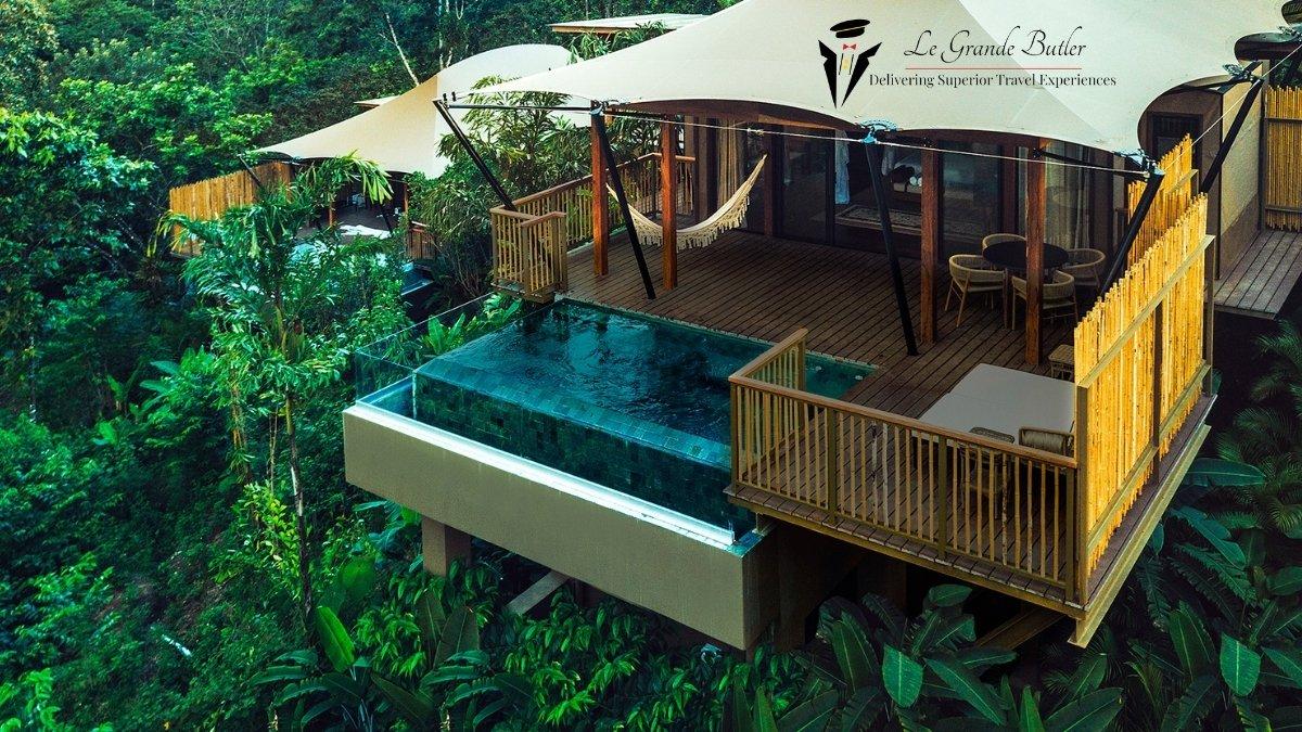 Luxury in the rainforest Le Grande Butler Travel